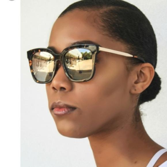 465905584a BRAND NEW DIFF Eyewear Bella Tortoise Sunglasses